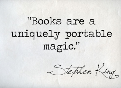 USED - books-are-a-uniquely-portable-magic